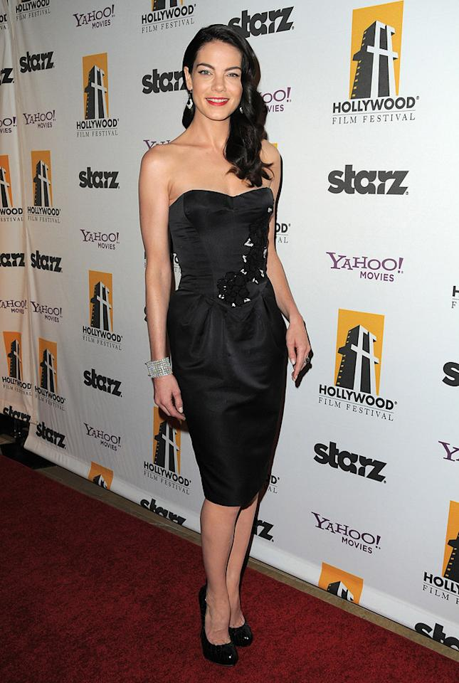 """<a href=""""http://movies.yahoo.com/movie/contributor/1804504037"""">Michelle Monaghan</a> at the 13th Annual Hollywood Awards Gala held at the Beverly Hilton Hotel - 10/26/2009"""