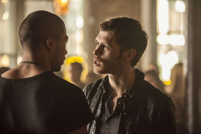 """The Originals"" -- Charles Michael Davis as Marcel and Joseph Morgan as Klaus"