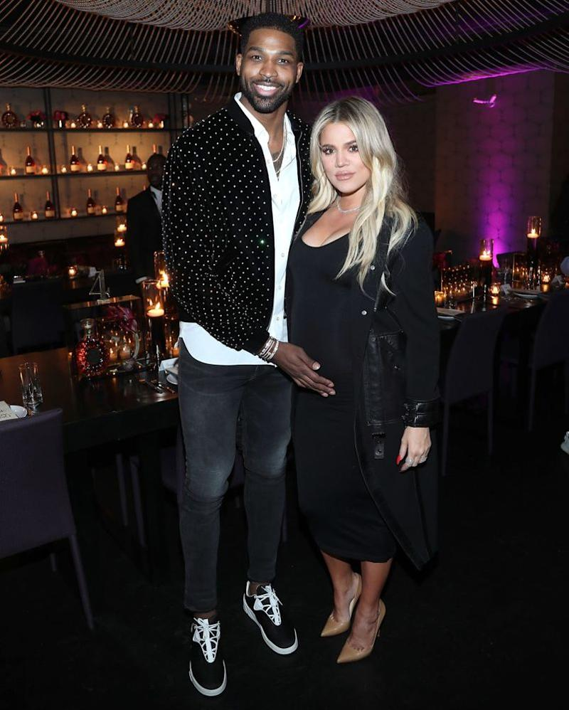 Tristan Thompson and Khloé Kardashian