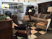 """<p>""""Oh this place is like heaven! They have each booth organized and payed out nicely. No cluttery messes to dig through. Most everything was priced very reasonably and I felt each booth was designed very well,"""" <a href=""""https://www.yelp.com/biz/screendoor-asheville"""" rel=""""nofollow noopener"""" target=""""_blank"""" data-ylk=""""slk:Hannah H"""" class=""""link rapid-noclick-resp"""">Hannah H</a>.</p><p><strong>Visit the store</strong>: 115 Fairview Rd, Asheville, NC</p>"""