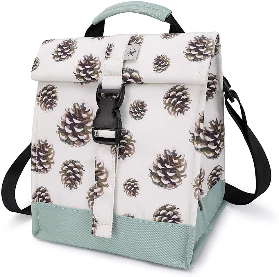 <p>The <span>Sunny Bird Insulated Lunch Bag </span> ($25, originally $40) has thermal insulation to help keep food and beverages hot or cold for hours.</p>