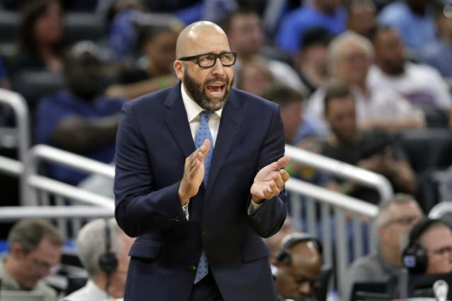 David Fizdale says he gets a regular 'vote of confidence' from James Dolan