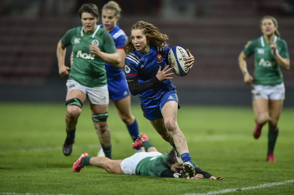 The winners of Ireland v France this weekend will play England in the 2021 Women's Six Nations showpiece on Super Saturday © Thierry Breton / Panoramic