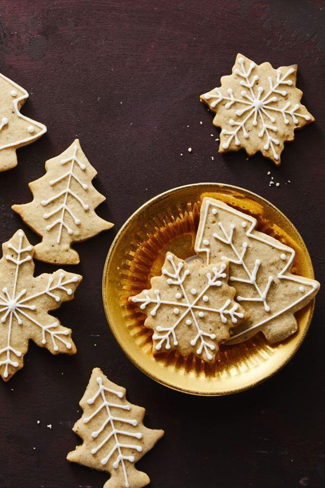 """<p>For a double the spice, pair these cinnamon, ginger and cardamom-infused cookies with a cup of chai tea.</p><p><em><a href=""""https://www.goodhousekeeping.com/food-recipes/dessert/a25335130/chai-tree-and-snowflake-cookies-recipe/"""" rel=""""nofollow noopener"""" target=""""_blank"""" data-ylk=""""slk:Get the recipe for Chai Tree and Snowflake Cookies »"""" class=""""link rapid-noclick-resp"""">Get the recipe for Chai Tree and Snowflake Cookies »</a></em></p>"""