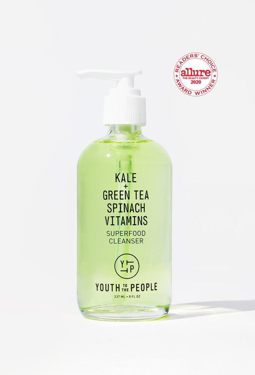 <p>Like a green juice for your face, the <span>Youth to the People Superfood Cleanser</span> ($36) is a top-rated sudser packed with good-for-you ingredients like kale, spinach, and green tea to help fight inflammation and hydrate the skin with vitamins C, E, and K.</p>