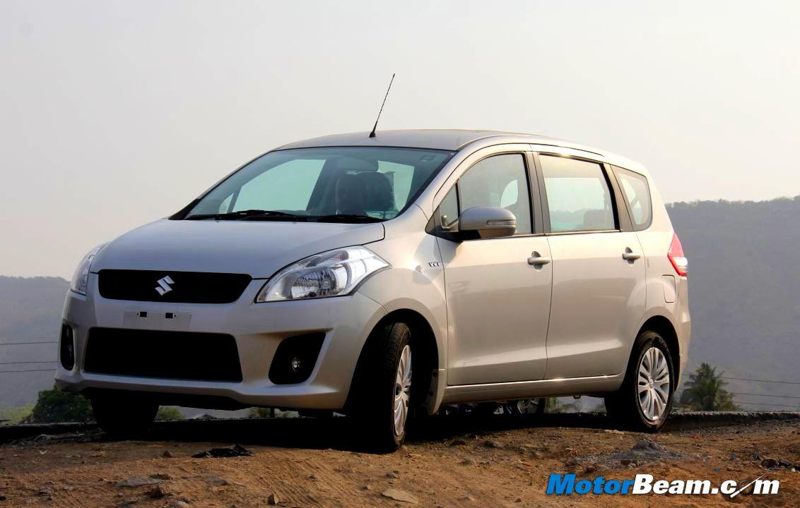 Maruti Suzuki is offering a discount of Rs. 10,000/- on petrol variants of the Ertiga.