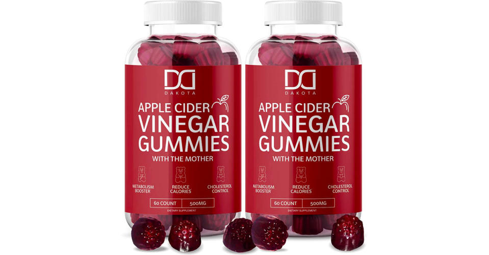 Apple Cider Vinegar Gummies for Weight Loss with The Mother (Photo: Amazon