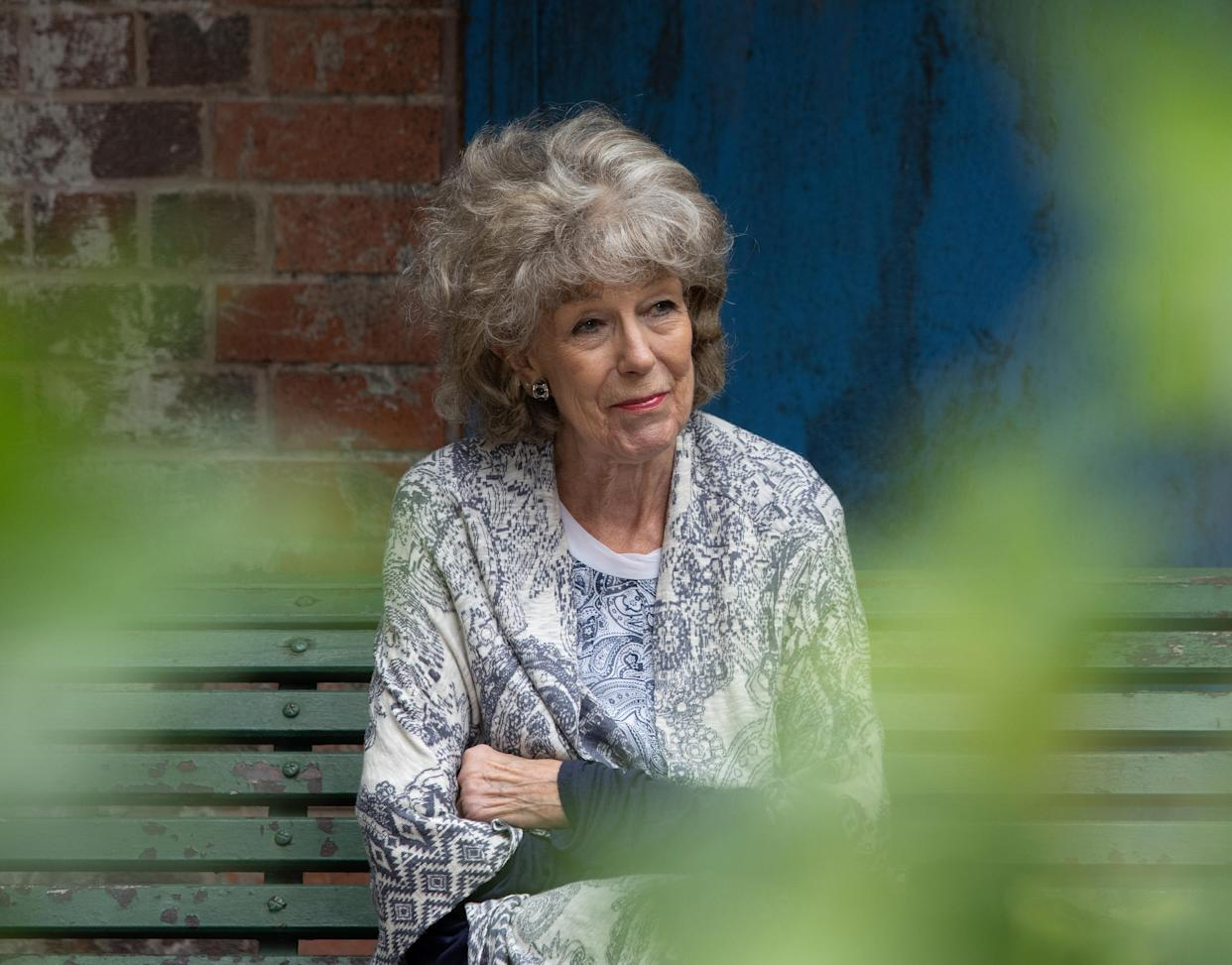 FROM ITV  STRICT EMBARGO - No Use Before  Tuesday 21st September  2021  Coronation Street - Ep 10440  Monday 27th September 2021 - 1st Ep   Explaining her feelings of redundancy to Shona Platt [JULIA GOULDING], Audrey Roberts [SUE NICHOLS] is touched by her words of comfort.   Picture contact David.crook@itv.com  Photographer - Mark Bruce   This photograph is (C) ITV Plc and can only be reproduced for editorial purposes directly in connection with the programme or event mentioned above, or ITV plc. Once made available by ITV plc Picture Desk, this photograph can be reproduced once only up until the transmission [TX] date and no reproduction fee will be charged. Any subsequent usage may incur a fee. This photograph must not be manipulated [excluding basic cropping] in a manner which alters the visual appearance of the person photographed deemed detrimental or inappropriate by ITV plc Picture Desk. This photograph must not be syndicated to any other company, publication or website, or permanently archived, without the express written permission of ITV Picture Desk. Full Terms and conditions are available on  www.itv.com/presscentre/itvpictures/terms