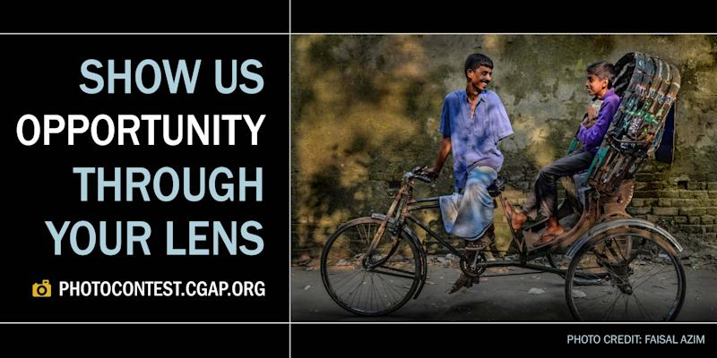 The 2017 CGAP Photo Contest is open for entries. (PHOTO CREDIT: FAISAL AZIM)