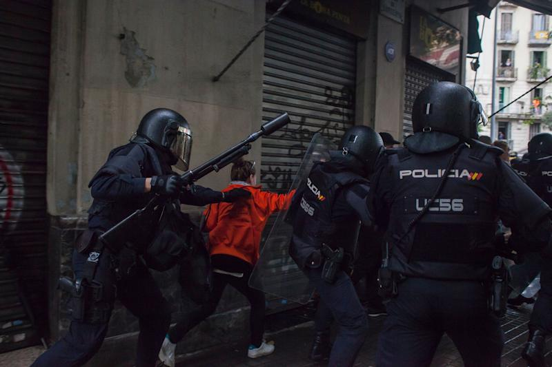 There were several arrests amid the demonstrations.