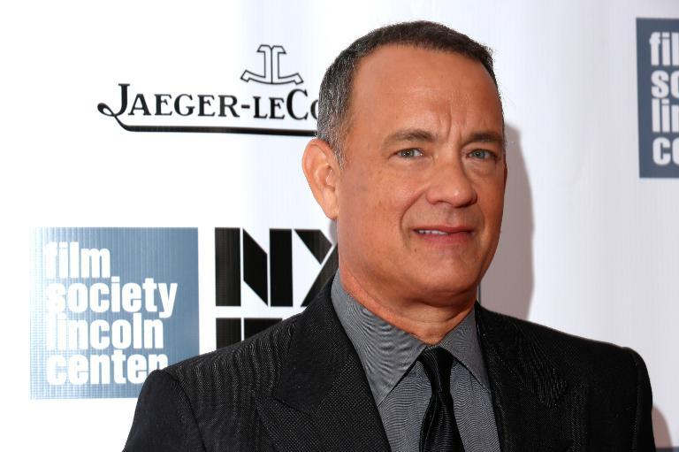 "Actor Tom Hanks attends the opening night gala world premiere of ""Captain Phillips"" during the 51st New York Film Festival, at Lincoln Center in New York, on September 27, 2013"