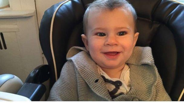 PHOTO: Benny Lansman, 1, who was diagnosed with the rare genetic disorder Canavan disease, is photographed here in this family photo. (Courtesy Jennie Landsman)