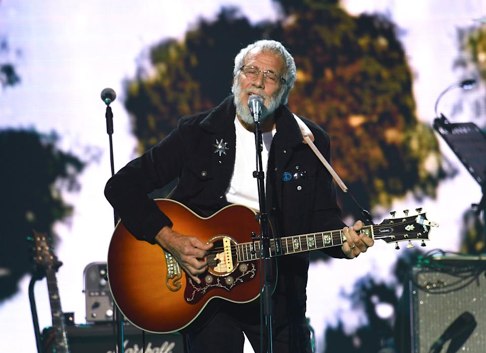 Yusuf/Cat Stevens, performing this March in London, has opened up about his conversion to Islam. (Photo: Gareth Cattermole/Getty Images)