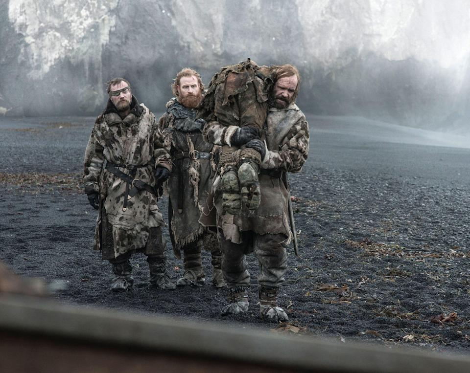 Tormund and The Hound of 'Game of Thrones'. (PHOTO: HBO)