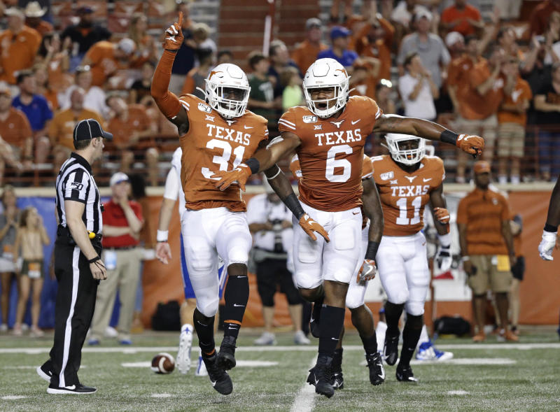 Texas linebacker Overshown to sit out until 'changes made'