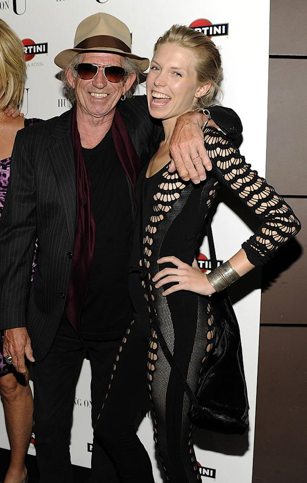"Rolling Stones' guitarist Keith Richards' 26-year-old daughter Theodora is an international fashion model. At 16, she starred alongside her sister Alexandra, and Mick Jagger's daughter Elizabeth in a Tommy Hilfiger campaign. Kevin Mazur/<a href=""http://www.wireimage.com"" target=""new"">WireImage.com</a> - July 29, 2010"