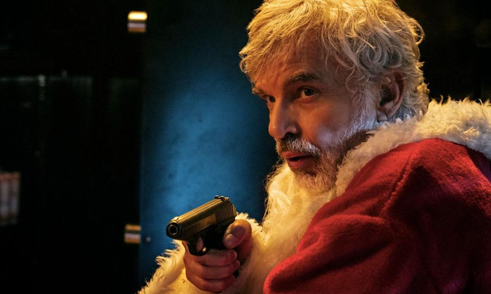 <p>'Bad Santa 2' holds the record for the most profanities in a Christmas film with the unrated version using the f-word 180 times. It claimed the title of sweariest Christmas film from 'Bad Santa' with 173 uses of the f-bomb. </p>