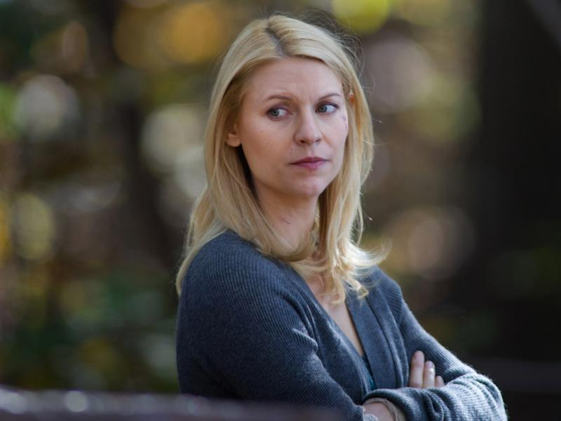 "Claire Danes as Carrie Mathison in the ""Homeland"" Season 2 episode, ""The Choice."""