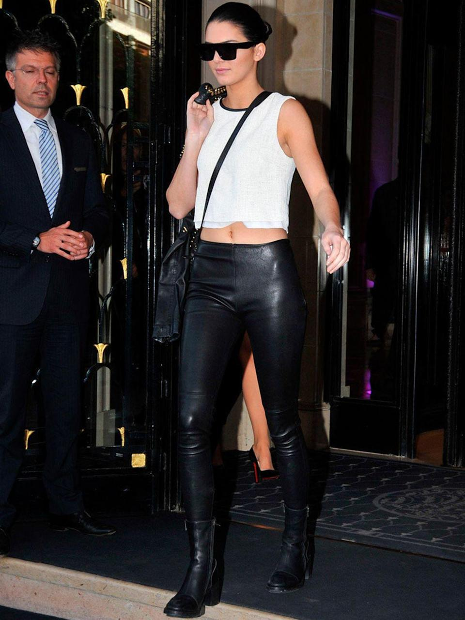 <p>Out and about in Paris, 22 May 2014.</p>
