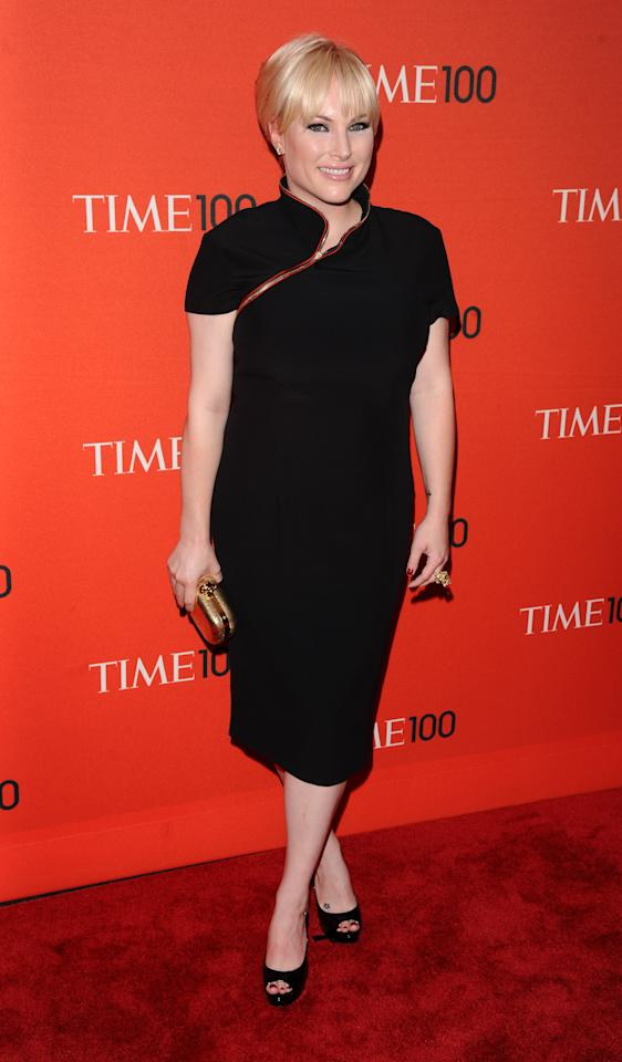 John McCain's Daughter Meghan McCain attends the Time 100 Gala, celebrating the 100 most influential people in the world, on Tuesday, April 26, 2011, in New York.