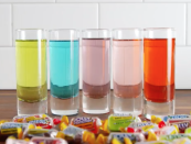 """<p>If you bought one too many bags of Jolly Ranchers, just refrigerate a couple of them with vodka to make these shots.</p><p><em>Get the recipe from <a href=""""https://www.delish.com/cooking/recipe-ideas/recipes/a52051/jolly-ranchers-shots-recipe/"""" rel=""""nofollow noopener"""" target=""""_blank"""" data-ylk=""""slk:Delish"""" class=""""link rapid-noclick-resp"""">Delish</a>.</em></p>"""