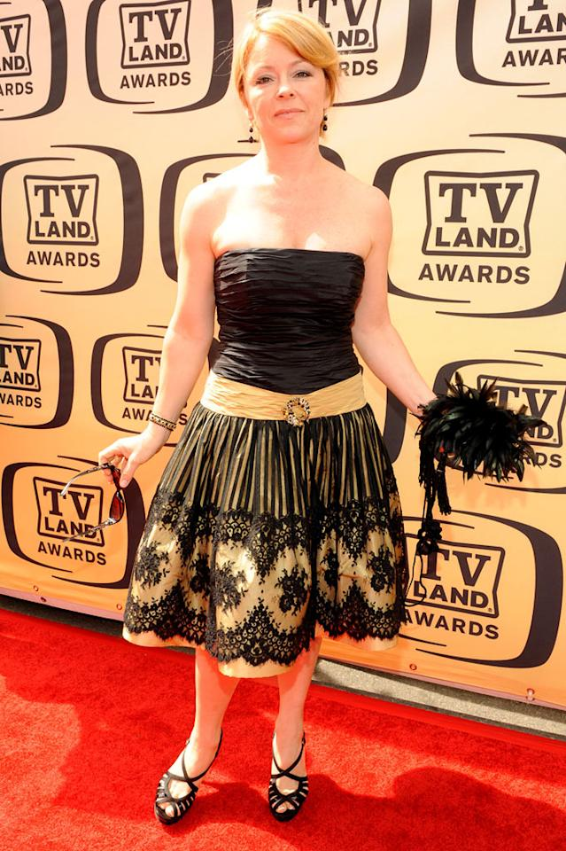 "Jill Whelan arrives at the <a href=""/the-8th-annual-tv-land-awards/show/46258"">8th Annual TV Land Awards</a> at Sony Studios on April 17, 2010 in Los Angeles, California. The show is set to air Sunday, 4/25 at 9pm on TV Land."
