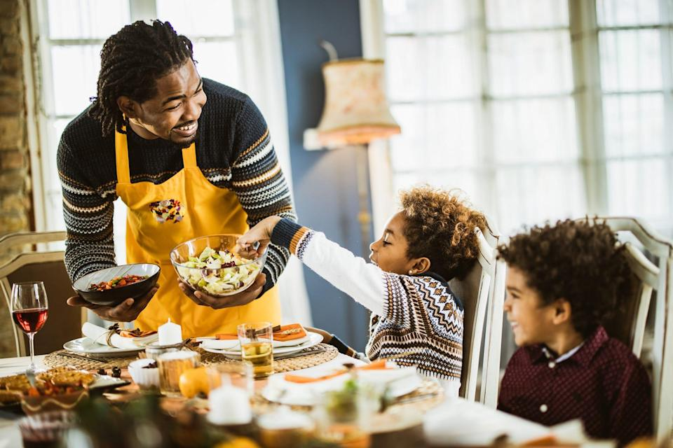 Research in recent yearshas correlated family meals with many positive outcomes for children