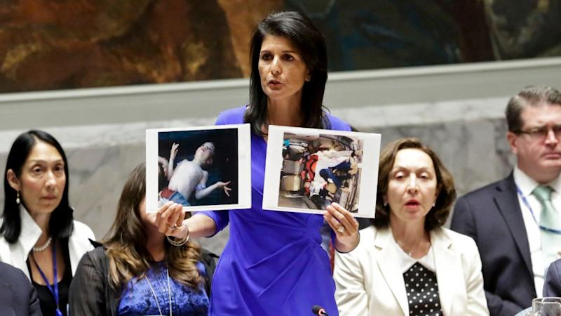 When UN Fails, States 'Compelled to Act': US on Syria Attack
