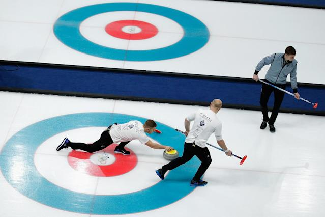 Down and out | Team GB men's team lost their play-off match: Dean Mouhtaropoulos/Getty Images