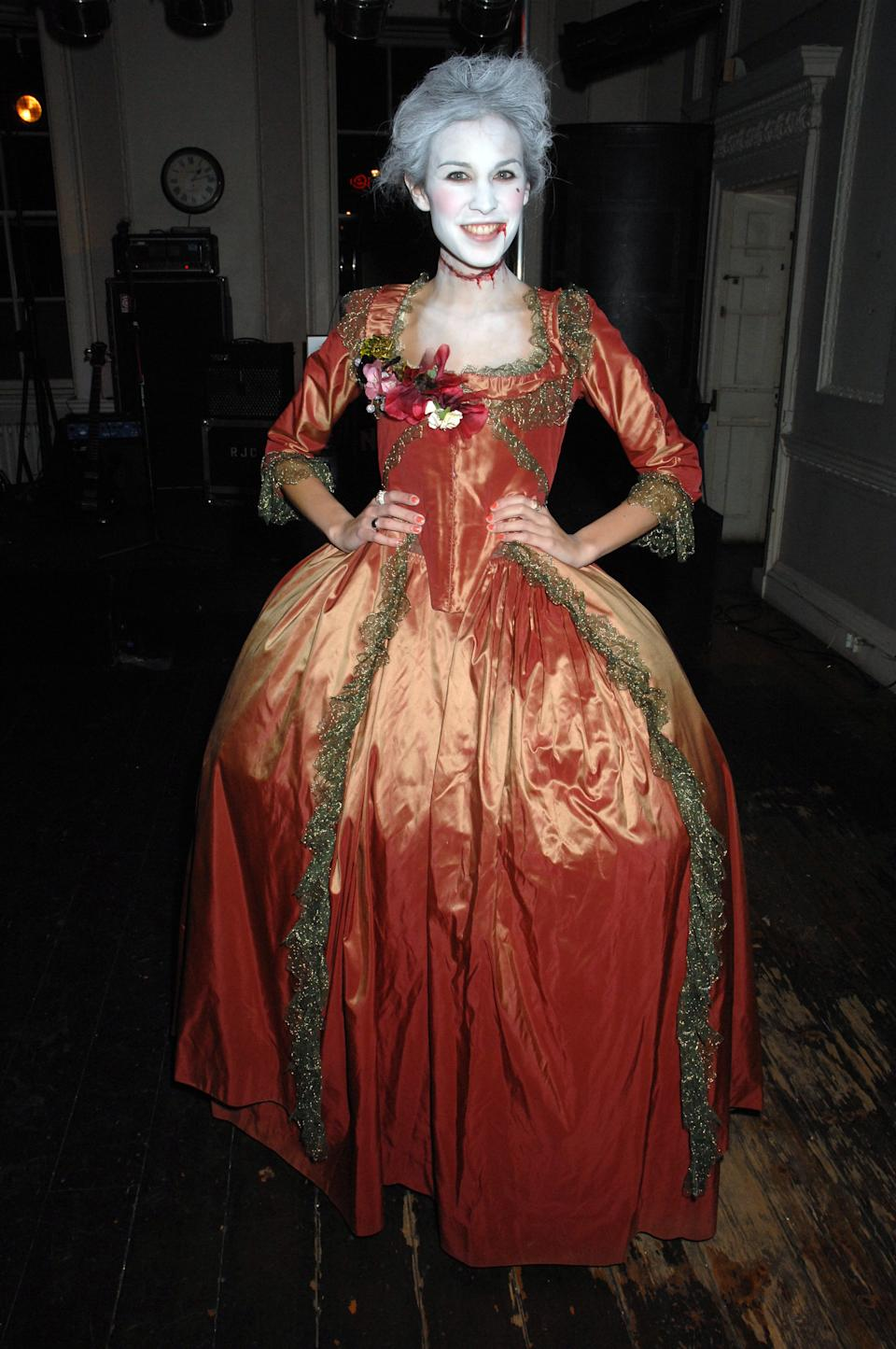 <strong>Alexa Chung as zombie Marie Antoinette</strong><br><br>When you can't choose between a scary costume or an elaborate royal costume, combine 'em.