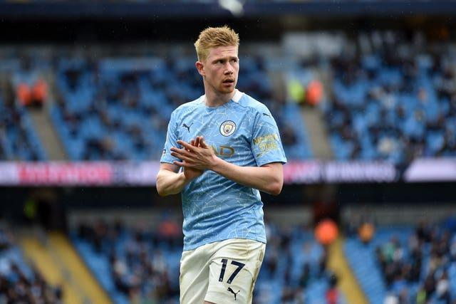 Kevin De Bruyne believes City have learned from the past