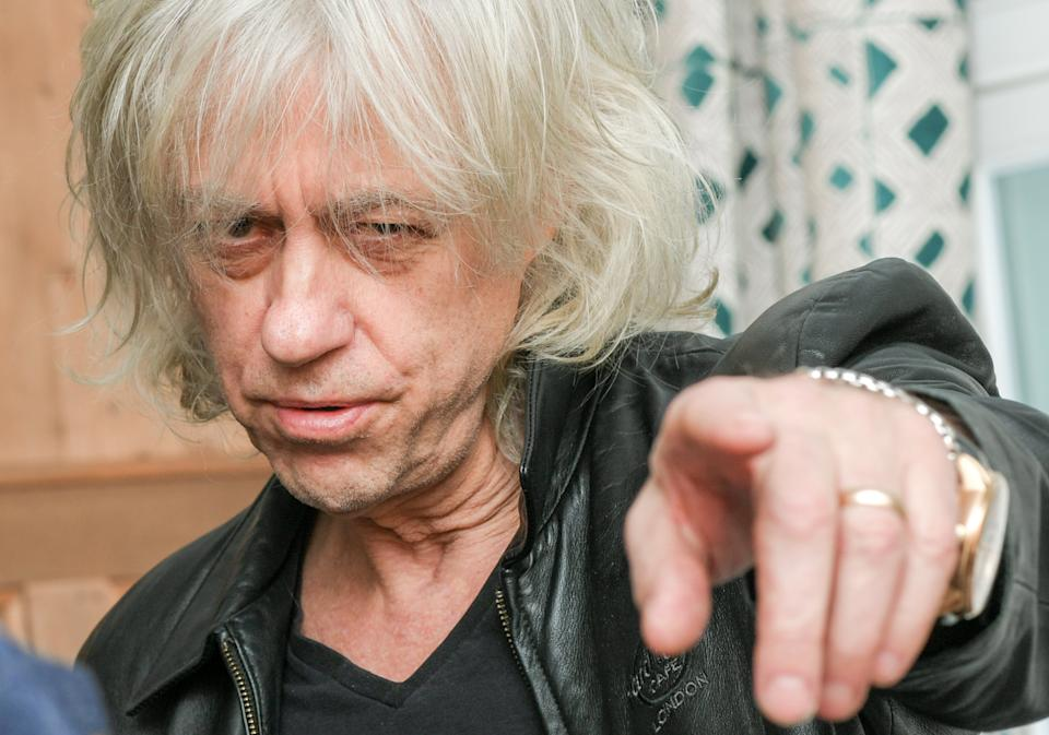 07 February 2020, Berlin: Irish rock musician Bob Geldof at a press event. Photo: Jens Kalaene/dpa-Zentralbild/ZB (Photo by Jens Kalaene/picture alliance via Getty Images)