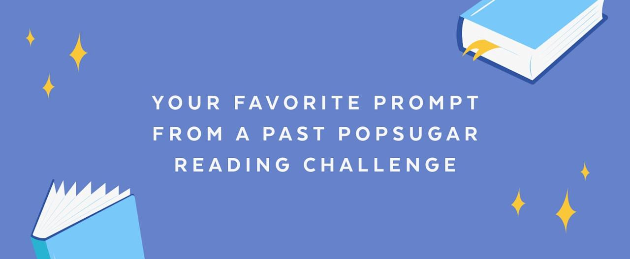 55635623a4 Book-Lovers, Take the 2019 POPSUGAR Reading Challenge and Have Your ...