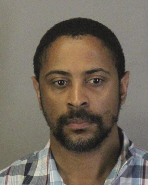 This photo released Wednesday, April 24, 2019, by the Sunnyvale Department of Public Safety shows Isaiah Joel Peoples. Police in Northern California have identified the man arrested after he allegedly deliberately plowed into a group of people. The Sunnyvale Department of Public Safety says 34-year-old Peoples, of Sunnyvale, Calif., was arrested Tuesday. (Sunnyvale Department of Public Safety via AP)