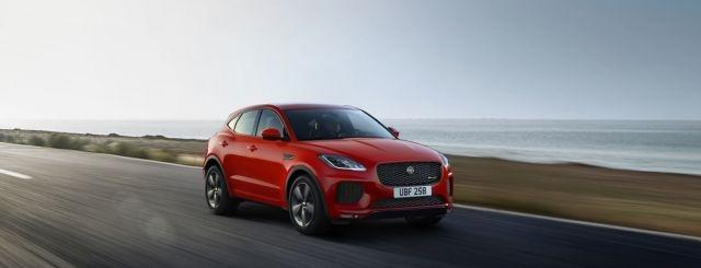 Jaguar gives the Checkered Flag treatment to the E-Pace SUV