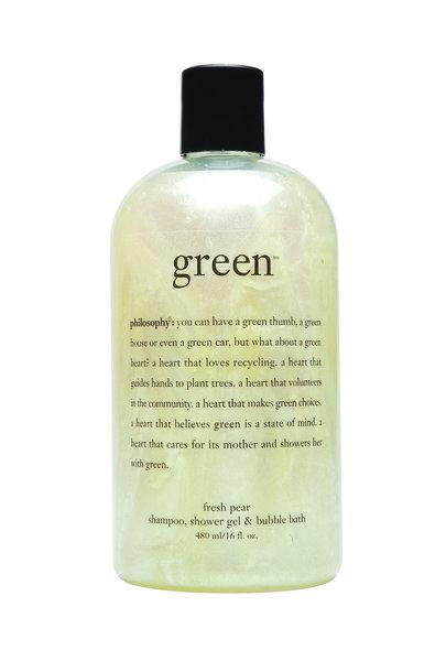 Philosophy's eco-minded 3-in-1 shampoo, shower gel and bubble bath