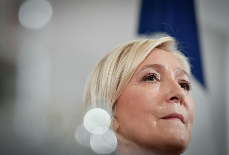 Zemmour's ascent is undermining support for Marine Le Pen, until now the undisputed champion of far-right voters (AFP/ALAIN JOCARD)