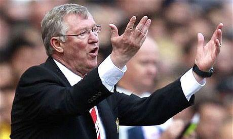 Sir Alex's temper is legendary.
