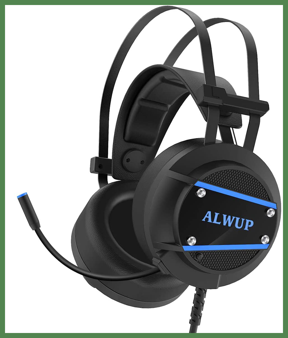 For Prime members only: Save $4 on this ALWUP A9 Gaming Headset. (Photo: Amazon)