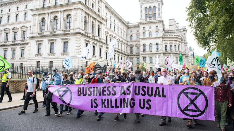 More than 300 arrests made during climate change protests