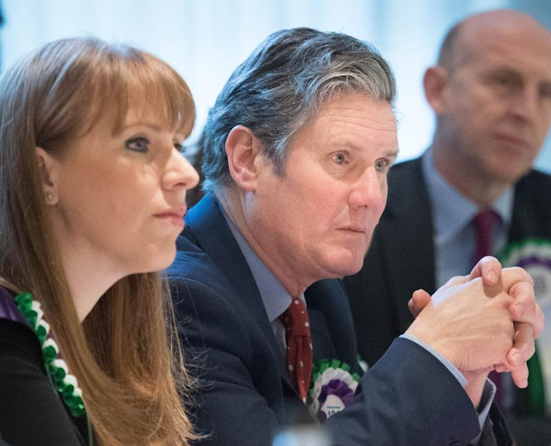 Angela Rayner with Keir Starmer  (Photo: Stefan Rousseau - PA Images via Getty Images)