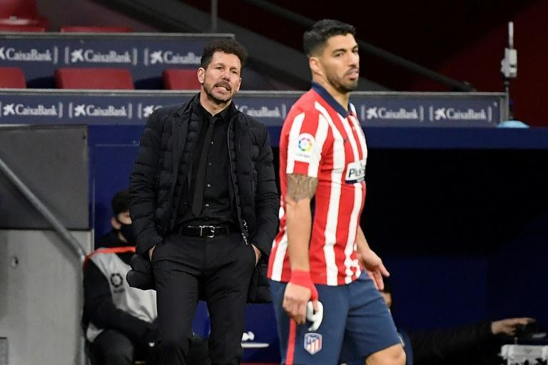 Atletico Madrid are top of La Liga but suffered an embarrassing defeat in the Copa del Rey in midweek