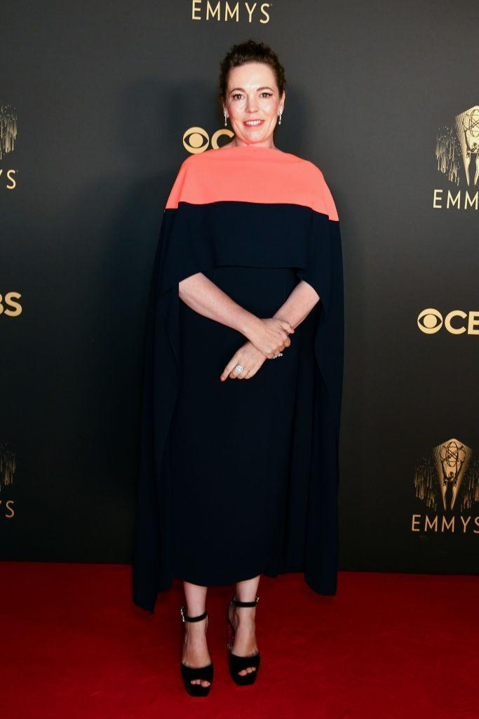 Olivia Colman attends the Netflix celebration of the 73rd Emmy Awards in London, England. (Getty Images for Netflix)