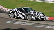 <p>Just a few months before, this prototype was spotted undergoing testing at the Nürburgring. Caught by spy photographers that summer, the test vehicle had the full production body in camouflage with an arctic camo pattern we haven't seen in a long time.</p>