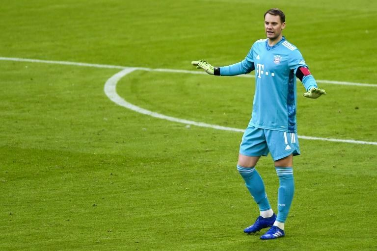 Neuer helped Bayern to a 1-1 draw with Bremen