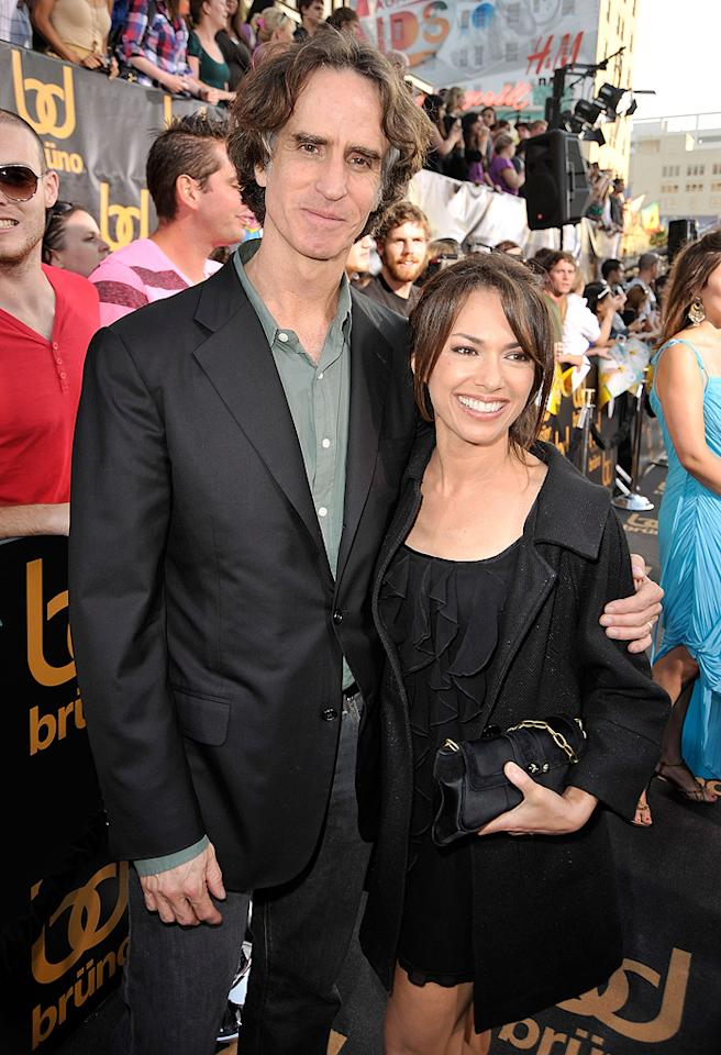 "<a href=""http://movies.yahoo.com/movie/contributor/1800018680"">Jay Roach</a> and wife at the Los Angeles premiere of <a href=""http://movies.yahoo.com/movie/1809922951/info"">Bruno</a> - 06/25/2009"