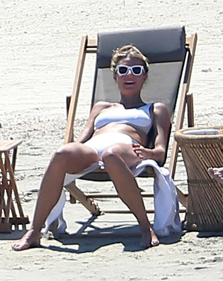 <p>In September, Paltrow celebrated her 44th birthday in a white bikini in Cabo. (Photo: FameFlynet) </p>