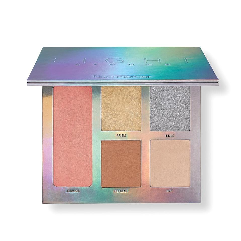 """<p>Further perfect your complexion with a few swipes of Laura Mercier's new light-reflecting highlighting palette. The lightweight creamy formulas create an incandescent effect that goes on sheer but is easily buildable for a more dramatic effect. Either way, radiant skin will never look as flawless as it does when you use any five of these ethereal shades.($52, available March 2017 exclusively at <a rel=""""nofollow"""" href=""""http://www.sephora.com/laura-mercier"""">Sephora.com</a>.) </p>"""