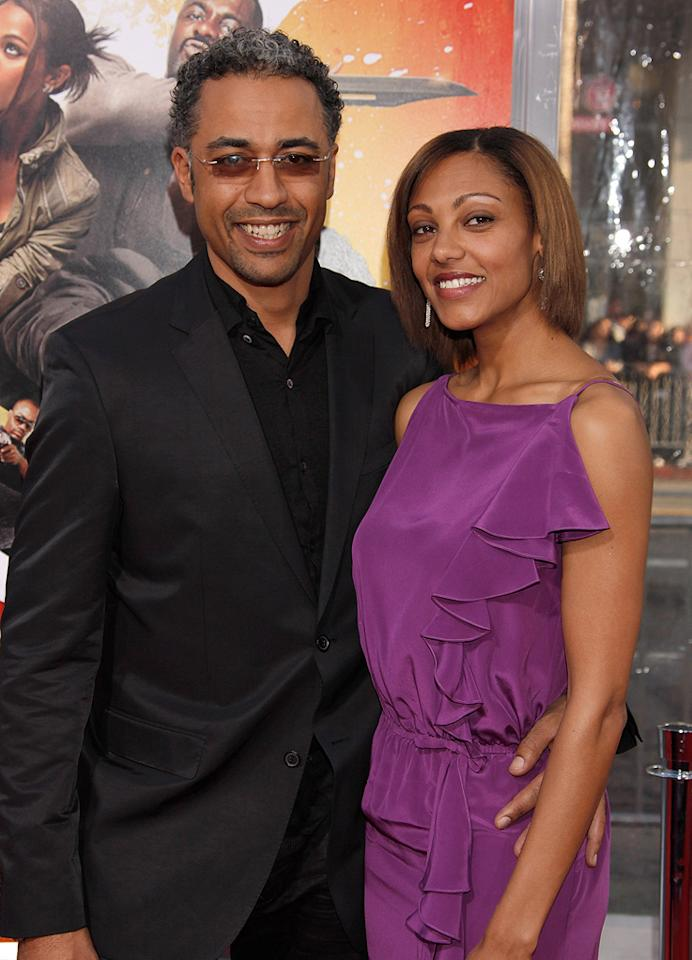 """<a href=""""http://movies.yahoo.com/movie/contributor/1809139210"""">Sylvain White</a> and guest at the Los Angeles premiere of <a href=""""http://movies.yahoo.com/movie/1810096356/info"""">The Losers</a> - 04/20/2010"""