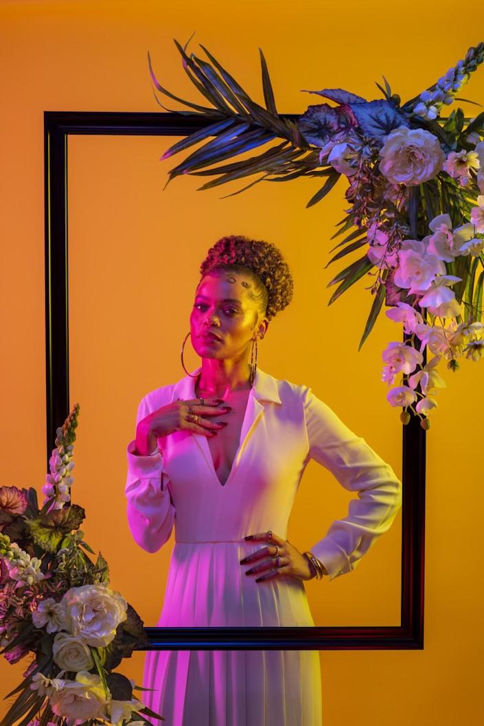 Singer and actress Andra Day